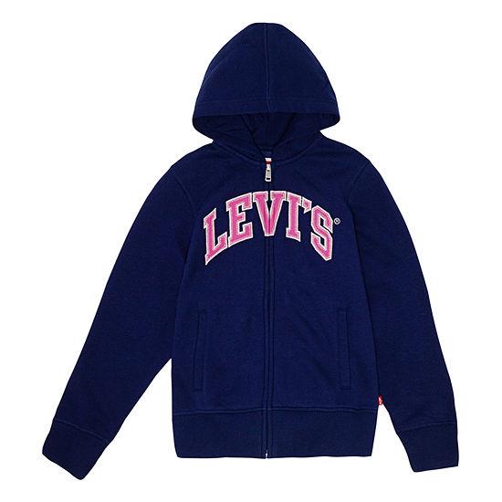 Levis Embroidered Hoodie Girls Hoodie Big Kid