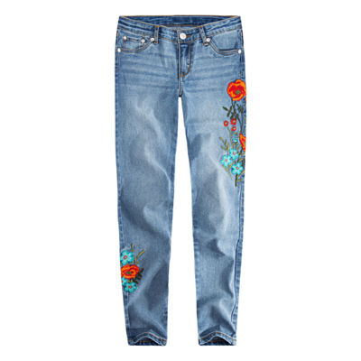 Levi's 710 Ankle Super Skinny Fit Jean Girls