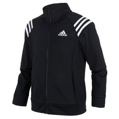 adidas Girls Lightweight Field Jacket-Big Kid