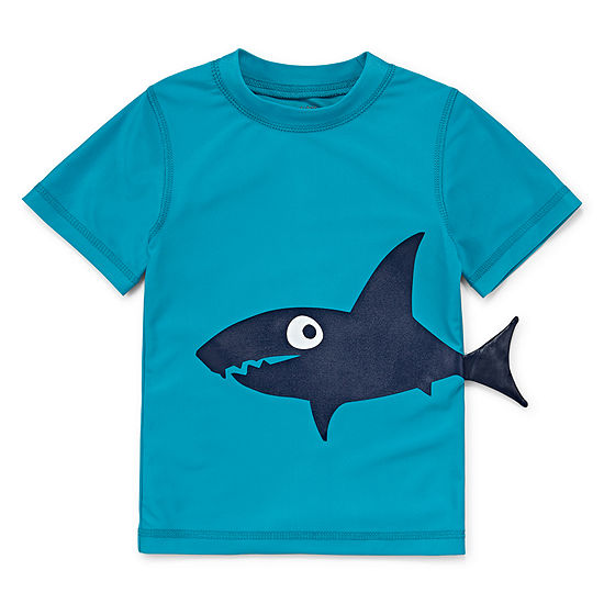 Okie Dokie Toddler Boys Rash Guard