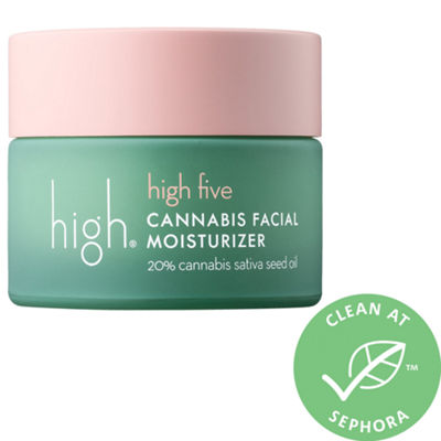 High Beauty High Five Cannabis Seed Facial Moisturizer