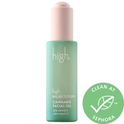 High Beauty High Expectations Cannabis Seed Facial Oil
