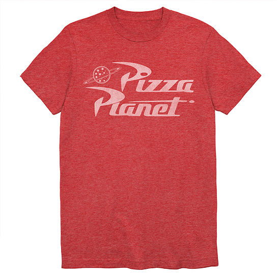 Mens Pizza Planet Graphic T Shirt