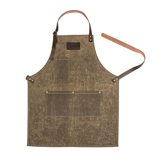 Cathy's Concepts Canvas Monogrammable Apron
