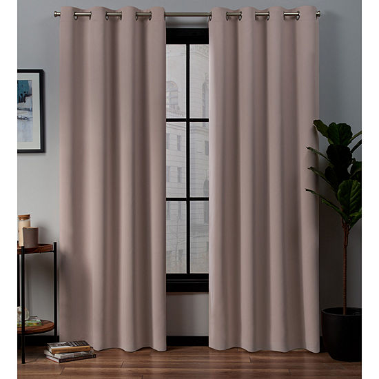 Academy Energy Saving 100% Blackout Grommet-Top Curtain Panel