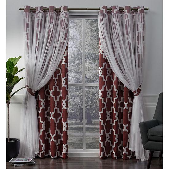 Alegra Energy Saving Blackout Grommet-Top Curtain Panel