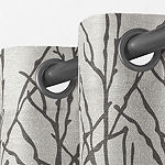Exclusive Home Curtains Branches Room Darkening Grommet-Top Set of 2 Curtain Panel