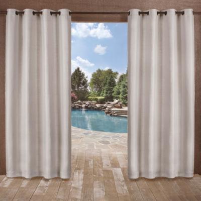 Delano 2-Pack Room Darkening Grommet-Top Curtain Panel