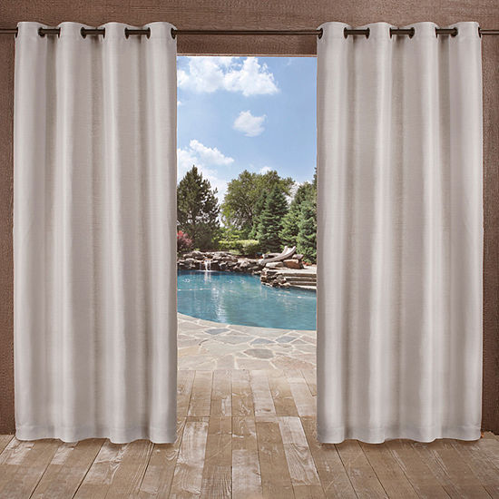 Delano Room Darkening Grommet-Top Curtain Panel