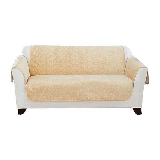 Sure Fit Elegant Vermicelli Loveseat Furniture Protector