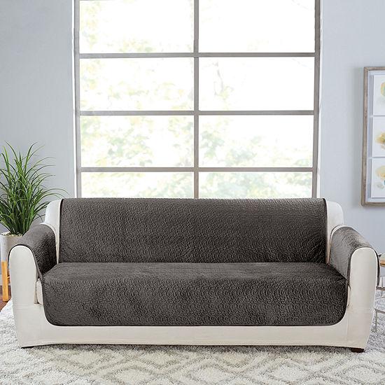 Sure Fit Elegant Vermicelli Sofa Furniture Protector