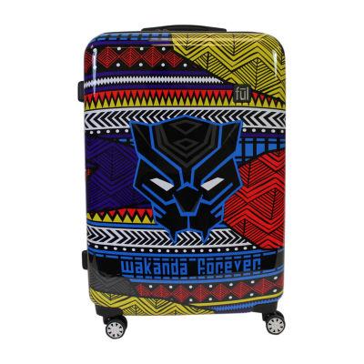"""Ful Marvel Black Panther Wakanda Hardside Lightweight 29"""" Luggage"""