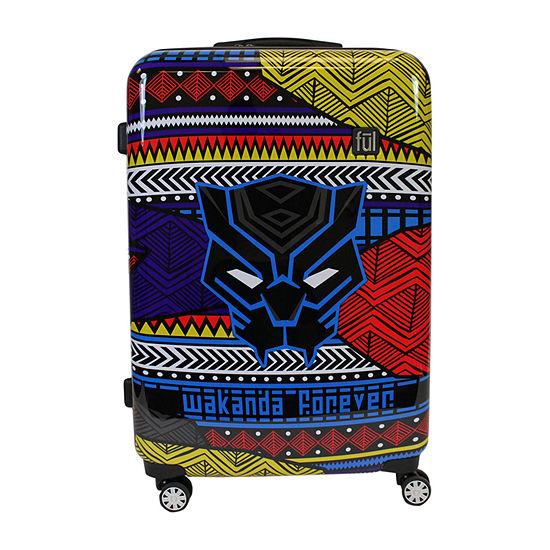 Ful Marvel Black Panther Wakanda 3 Pc Marvel Hardside Lightweight Luggage Set