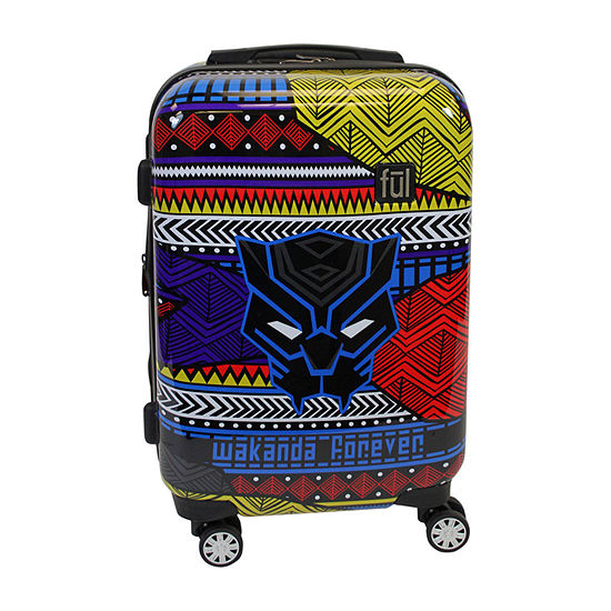 "Ful Marvel Black Panther Wakanda Hardside Lightweight 21"" Luggage"