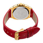 Akribos XXIV Womens Red Strap Watch-A-902rd
