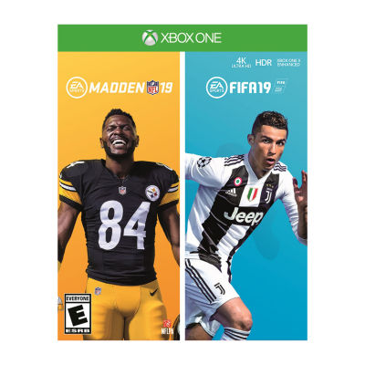 XBox One Fifa19 + Madden19 Bundle Video Game