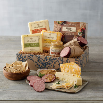 Harry & David Fall Deluxe Meat N Cheese Gift Set