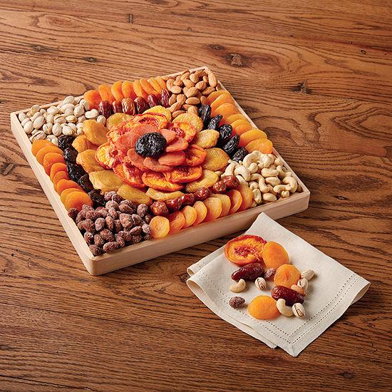 Harry & David Fall Dried Fruit N Nut Tray