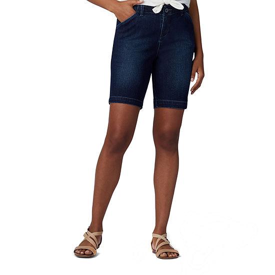 "Lee Womens Mid Rise 9"" Bermuda Short"