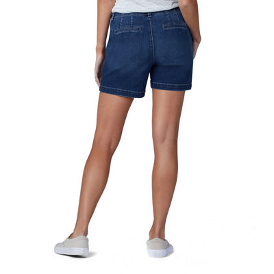 Lee Womens Mid Rise Chino Short
