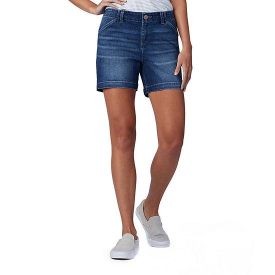 Lee® Womens Mid Rise Chino Short