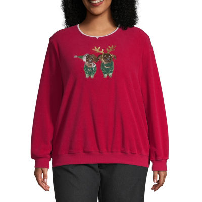 Alfred Dunner Puppy Pullover - Plus