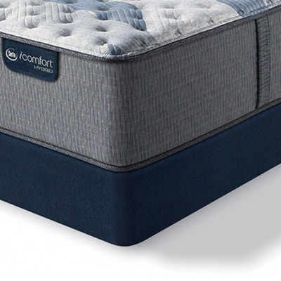 Serta Icomfort Blue Fusion 500 Extra Firm Tight-Top Mattress + Box Spring