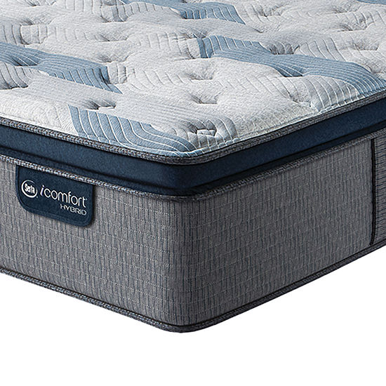 Serta Icomfort Blue Fusion 300 Plush Pillow-Top Mattress