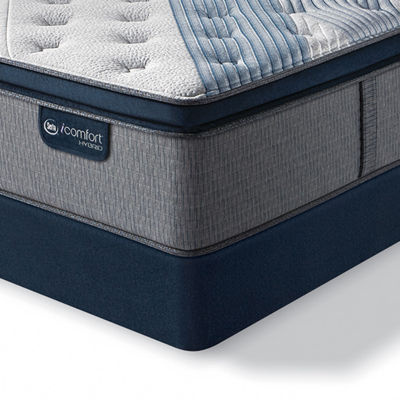 Serta® iComfort® Blue Fusion 5000 Cushion Firm Pillow-Top - Mattress + Box Spring