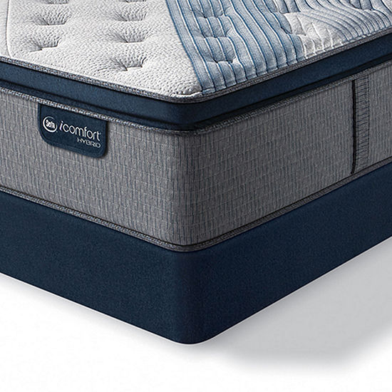Serta® iComfort® Blue Fusion 5000 Cushion Firm Pillow-Top - Mattress + Box Spring