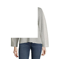 Deals on A.N.A Womens Round Neck Long Sleeve Pullover Sweater