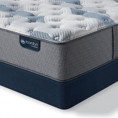 Serta Icomfort Blue Fusion 200 Plush Tight-Top Mattress + Box Spring