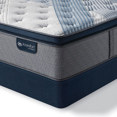 Serta® iComfort® Blue Fusion 1000 Firm Pillowtop - Mattress + Box Spring