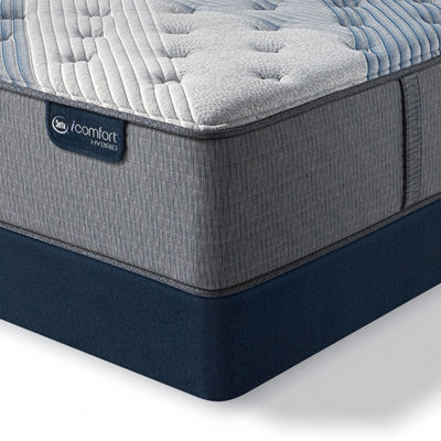 Serta® iComfort® Blue Fusion 3000 Firm - Mattress + Box Spring