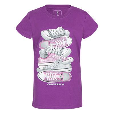Converse Graphic T-Shirt - Girls' 7-16