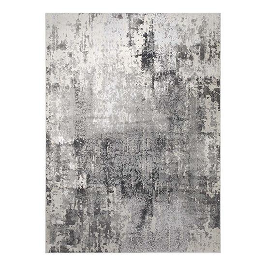 Christian Siriano New York Jersey Rainer Textured Rectangular Rug