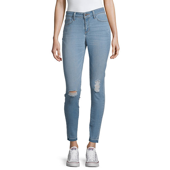a.n.a Womens Mid Rise Slim Jegging