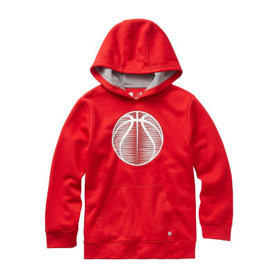 Xersion Cotton Fleece Boys Cuffed Sleeve Hoodie - Preschool / Big Kid