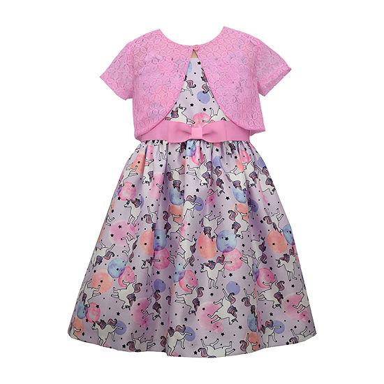 Bonnie Jean Toddler Girls Sleeveless 2-pc. Dress Set