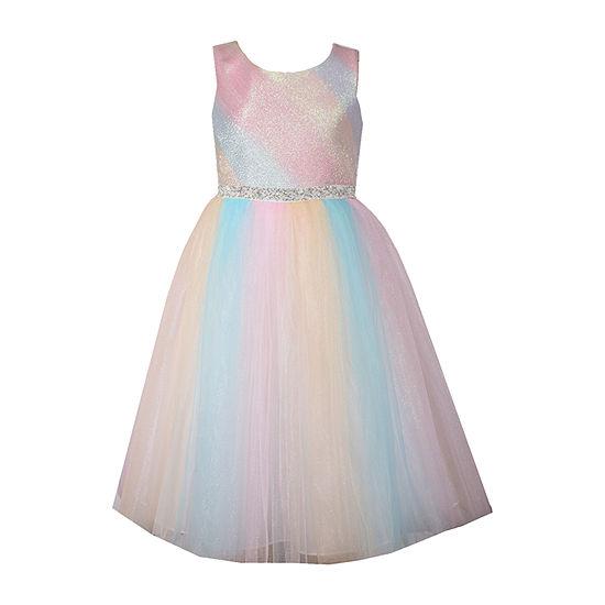 Bonnie Jean Little & Big Girls Sleeveless Fit & Flare Dress