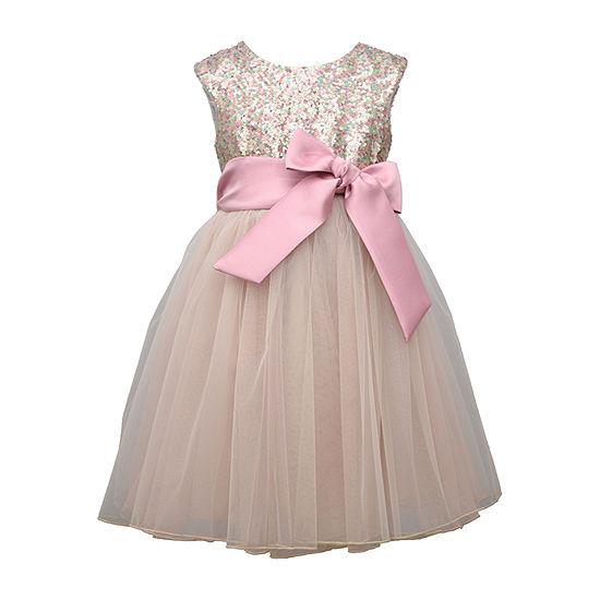 Bonnie Jean Little Girls Sleeveless Fit & Flare Dress