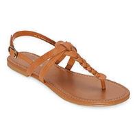 Arizona Womens Gibson Adjustable Strap Flat Sandals Deals