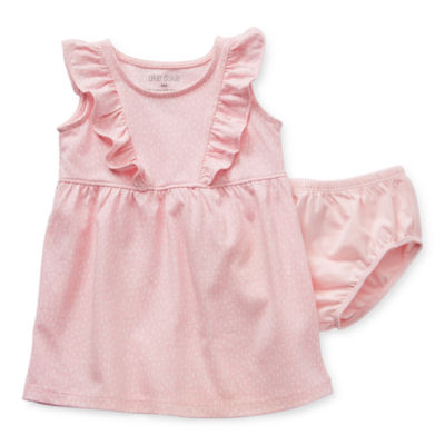 Okie Dokie Baby Girls Sleeveless A-Line Dress