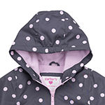 Carter's Baby Girls Hooded Midweight Jacket