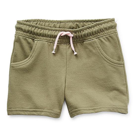 Okie Dokie Little Girls Pull-On Short