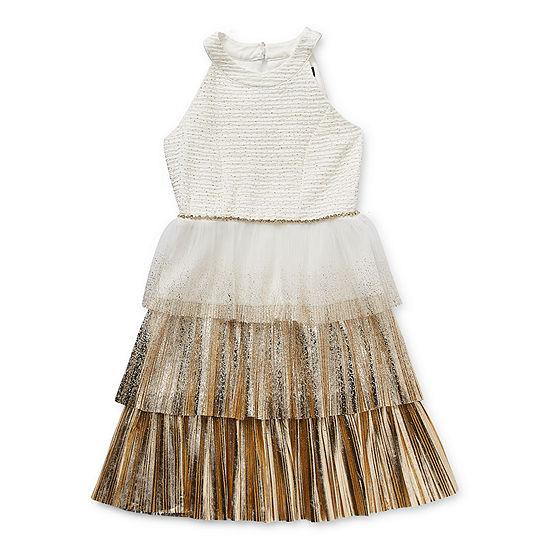 Trixxi Girl Little & Big Girls Sleeveless Party Dress