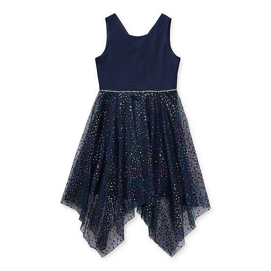 Trixxi Little & Big Girls Sleeveless Party Dress