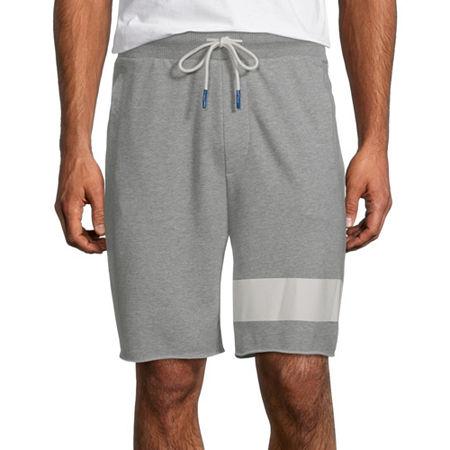 Arizona Mens Pull-On Short, Large , Gray