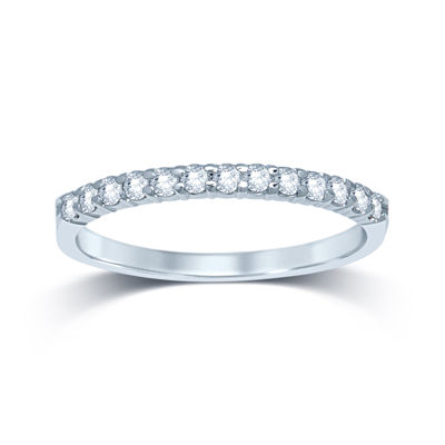 1/4 CT. T.W. Diamond 14K White Gold Band
