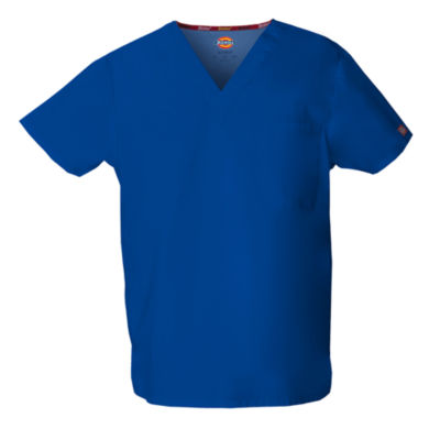 Dickies® V-Neck Unisex Scrub Top